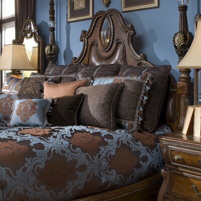 Sovereign Upholstered Panel Headboard Size: Queen