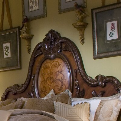Chateau Beauvais Panel Headboard Size: California King