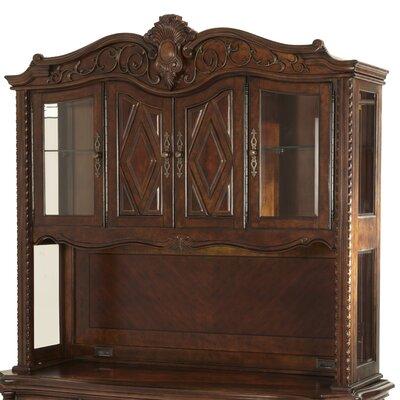 Windsor Court 58.5 H x 62 W Desk Hutch