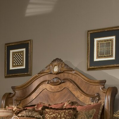 Cortina Wingback Headboard Size: Queen
