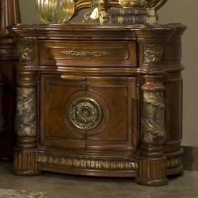 Villa Valencia 1 Drawer Nightstand