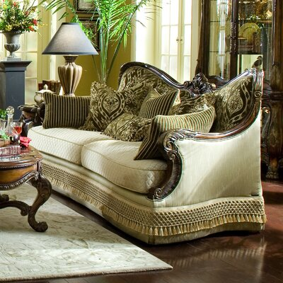 Chateau Beauvais Sofa Upholstery: Gold