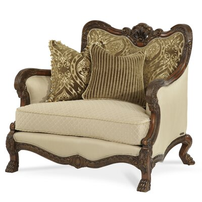 Chateau Beauvais Chair and a Half Upholstery: Antique Gold