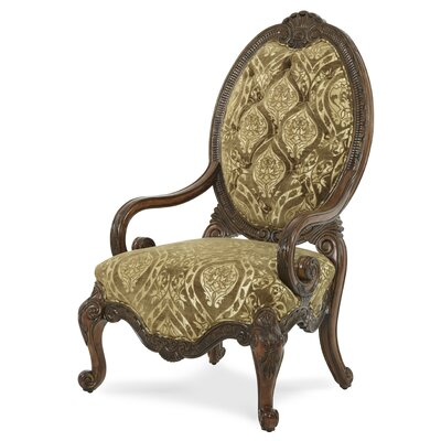 Chateau Beauvais Chair Upholstery Color: Bronze