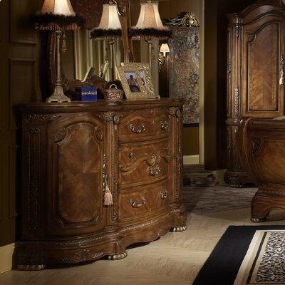 Cortina 3 Drawer Combo Dresser