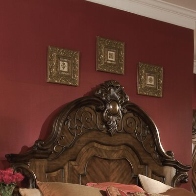 Windsor Court Mansion Panel Headboard Size: Queen