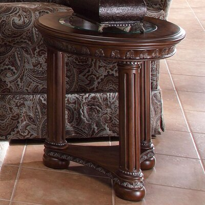 Monte Carlo II Side Table Finish: Caf� Noir