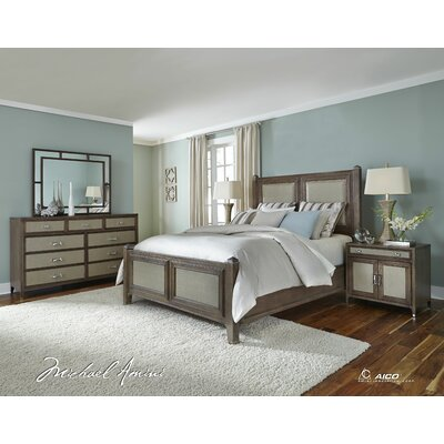 Biscayne West Panel Bed