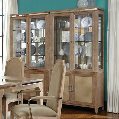 Biscayne West Lighted China Cabinet