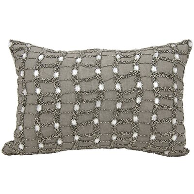 Beaded Ladders 100% Cotton Throw Pillow