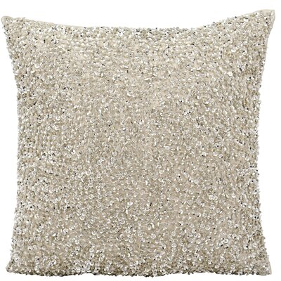 Sequins & Seed Beads Throw Pillow