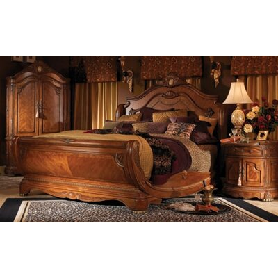 furniamaze webstore cortina sleigh 4 piece bedroom set in