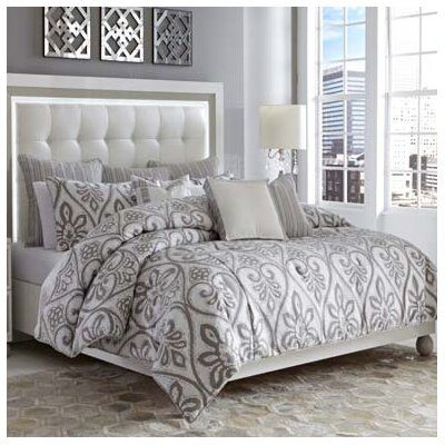 Melrose Park Reversible Comforter Set Size: King