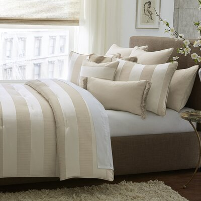 Amalfi Cotton Blend Reversible Comforter Set Size: King