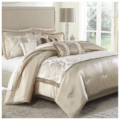 Palermo Reversible Comforter Set Size: King