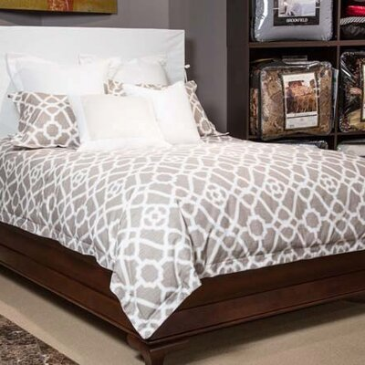 Harper Reversible Comforter Set Size: Queen
