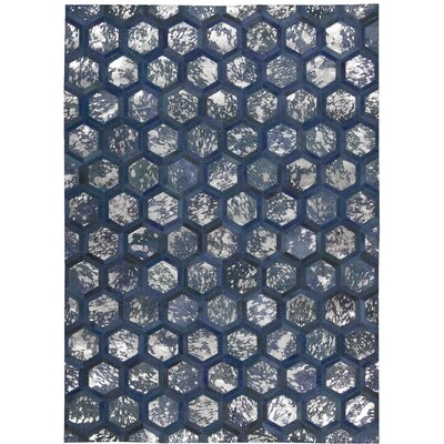 City Chic Handmade Cobalt Area Rug Rug Size: Rectangle 8 x 10