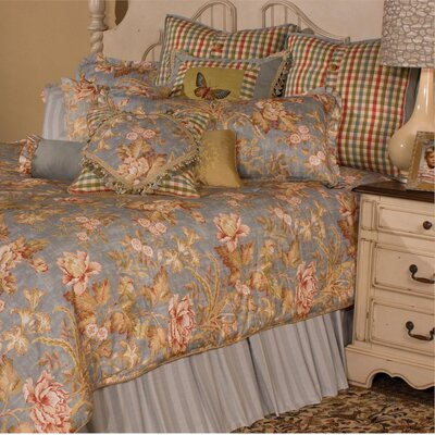 Tricia Reversible Comforter Set Size: King