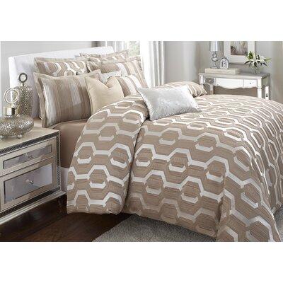 Como Reversible Comforter Set Size: Queen