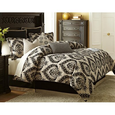 Equinox Reversible Comforter Set Size: King