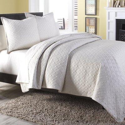 Taylor 3 Piece Reversible Comforter Set Size: King