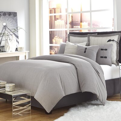 Fusion Reversible Duvet Cover Set Size: King