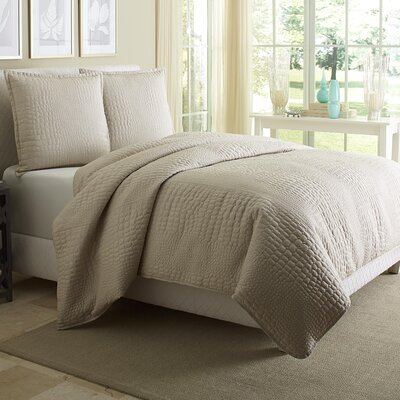Dash 3 Piece Reversible Comforter Set Size: King