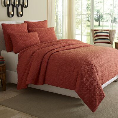 Fillmore 5 Piece Reversible Duvet Cover Set Size: Queen