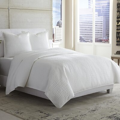 Ashworth 3 Piece Reversible Duvet Cover Set Size: King