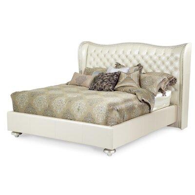 Hollywood Swank Upholstered Platform Bed