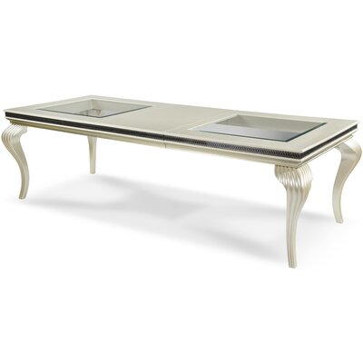 Hollywood Swank 4 Leg Dining Table