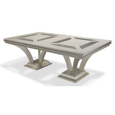 Hollywood Swank Rectangular Dining Table