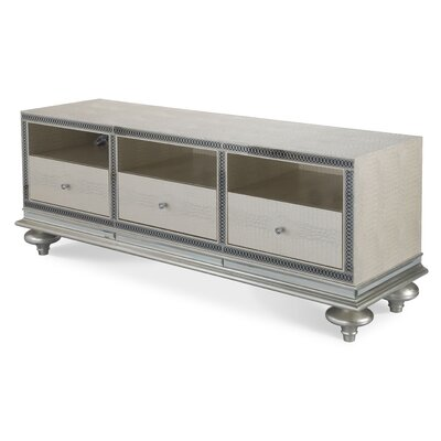 Hollywood Swank 74.5 TV Stand Color: Crystal Croc