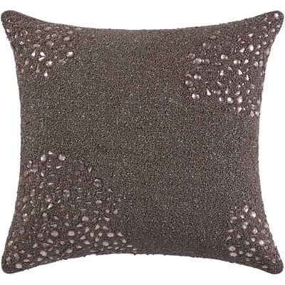 Fedor Throw Pillow Color: Mauve, Size: 20 H x 20 W