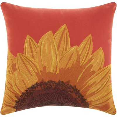 Moreland Indoor/Outdoor Throw Pillow Color: Red/Yellow