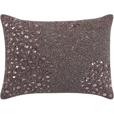 Hertzog Lumbar Pillow Color: Mauve, Size: 10 H x 14 W