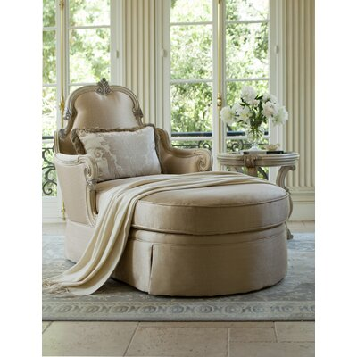 Platine De Royale Chaise Lounge Finish/Upholstery: Champagne/Chamagne
