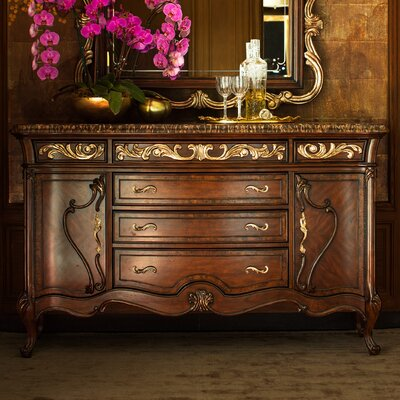 Platine De Royale Sideboard Finish: Light Espresso