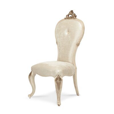 Platine De Royale Side Chair Finish: Champagne