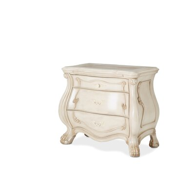 Chateau De Lago 3 Drawer Nightstand