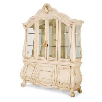 Chateau De Lago Lighted China Cabinet