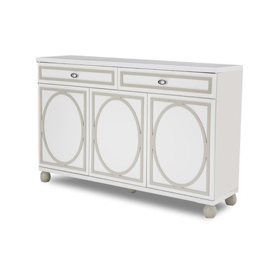 Sky Tower Sideboard Color: Cloud White