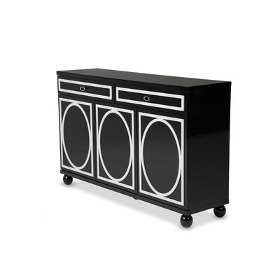 Sky Tower Sideboard Finish: Black Ice