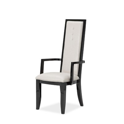 Sky Tower Arm Chair Finish: Black Ice