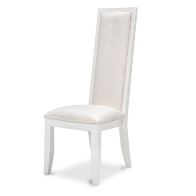 Sky Tower Side Chair Finish: Cloud White