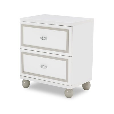 Sky Tower Nightstand Color: Cloud White