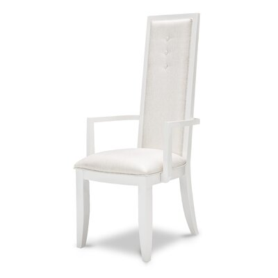 Sky Tower Arm Chair Finish: Cloud White