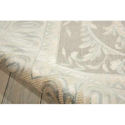Platine Hand- Woven Beige Area Rug Rug Size: Rectangle 76 x 106