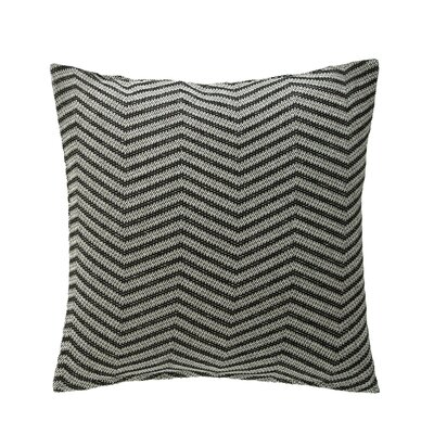 Zuri Throw Pillow Color: Noir