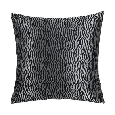Basswood Throw Pillow Color: Noir
